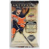 2019/20 Upper Deck Artifacts Hockey Hobby Pack