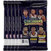 2019/20 Panini Contenders Basketball Blaster Pack (Lot of 5) = 1 Blaster Box