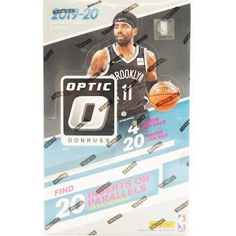 2019/20 Panini Donruss Optic Tmall Edition Basketball Hobby Box