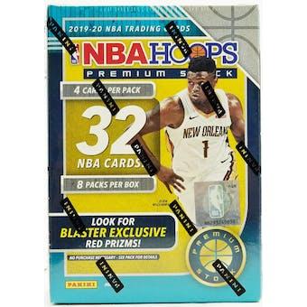 2019/20 Panini Hoops Premium Stock Basketball Blaster Box (Lot of 4)