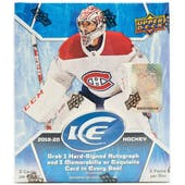 2019/20 Upper Deck Ice Hockey Hobby Box