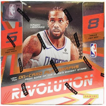2019/20 Panini Revolution Basketball 8-Box Case- DACW Live 26 Spot Random Team Break #4