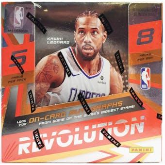 2019/20 Panini Revolution Basketball Hobby Box