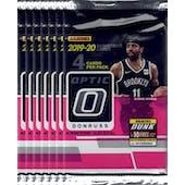 2019/20 Panini Donruss Optic Basketball Blaster Pack (Lot of 7) = 1 Blaster Box