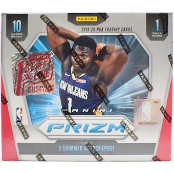 2019/20 Panini Prizm 1st Off The Line FOTL Basketball Hobby Box
