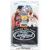 2019/20 Panini Certified Basketball Hobby Pack