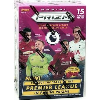 2019/20 Panini Prizm Premier League Soccer Blaster Box (15 Cards)