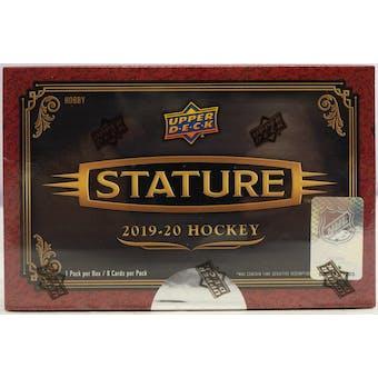 2019/20 Upper Deck Stature Hockey Hobby 12-Box- DACW Live 31 Spot Random Team Break #4