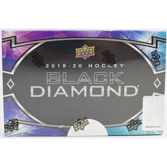2019/20 Upper Deck Black Diamond Hockey 5-Box Case- DACW Live 31 Spot Random Team Break #4