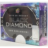 2019/20 Upper Deck Black Diamond CDD Exclusive Hockey Hobby Box