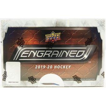 2019/20 Upper Deck Engrained Hockey Hobby Box