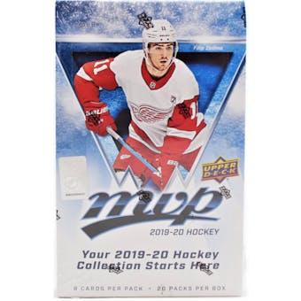 2019/20 Upper Deck MVP Hockey Hobby Box
