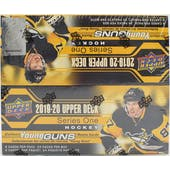 2019/20 Upper Deck Series 1 Hockey 24-Pack Box
