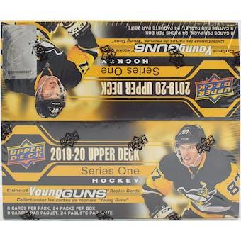 2019/20 Upper Deck Series 1 Hockey 24-Pack Box