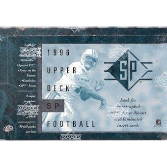 1996 Upper Deck SP Football Hobby Box