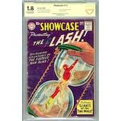 Showcase #14 CBCS 1.8 (C-OW) Signed By Joe Giella *19-23823C9-001*