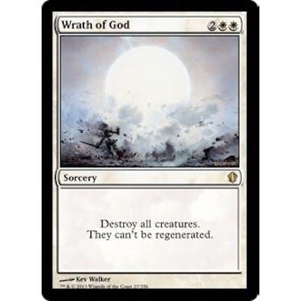 Magic the Gathering Commander 2013 Edition Single Wrath of God - NEAR MINT (NM)