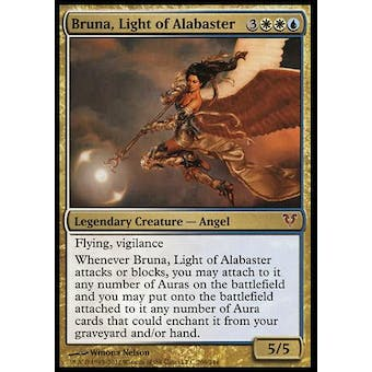 Magic the Gathering Avacyn Restored Single Bruna, Light of Alabaster Foil NM