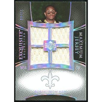 2007 Upper Deck Exquisite Collection Maximum Jersey Silver Spectrum #RM2 Robert Meachem /15