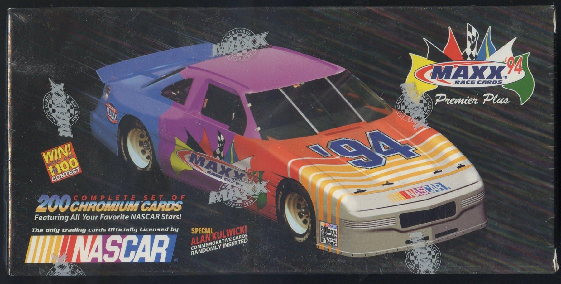 1994 J.R. Maxx Inc. Maxx Premier Plus Racing Factory Set | DA Card World