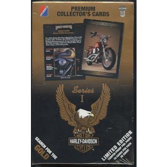 Harley Davidson Series 1 Hobby Box (1992 Collect-A-Card)