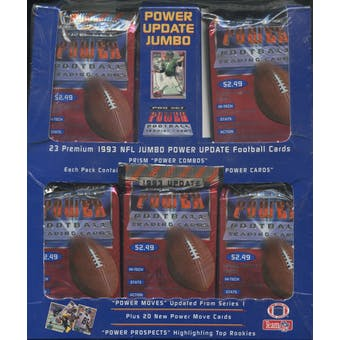 1993 Pro Set Power Update Football Jumbo Box