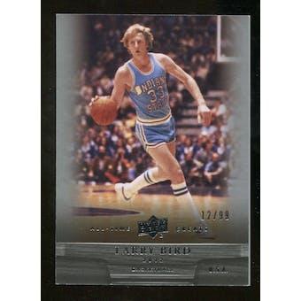 2012 Upper Deck All-Time Greats #41 Larry Bird /99