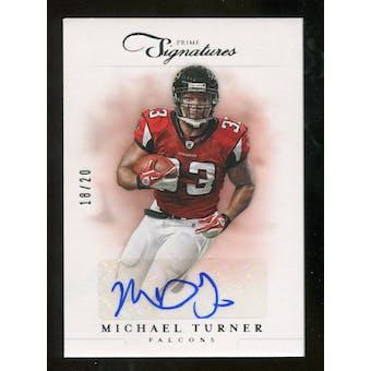 2012 Panini Prime Signatures Autographs Silver #43 Michael Turner Autograph /20