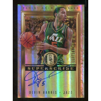 2011/12 Panini Gold Standard Superscribe Autographs #27 Devin Harris Autograph /149
