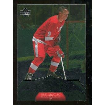 2007/08 Upper Deck Black Diamond #175 Gordie Howe