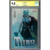Thor #1 CGC 9.8 Esad Ribic Variant Signature Series (W) *1958998010*