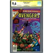 Avengers Annual #7 CGC 9.6 (W) Signature Series Jim Starlin *1959357001*