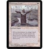 Magic the Gathering Alpha Single Consecrate Land - SLIGHT PLAY (SP)