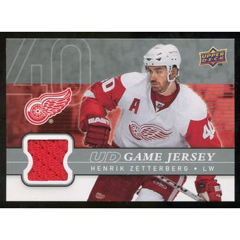 2008/09 Upper Deck Game Jerseys #GJHZ Henrik Zetterberg