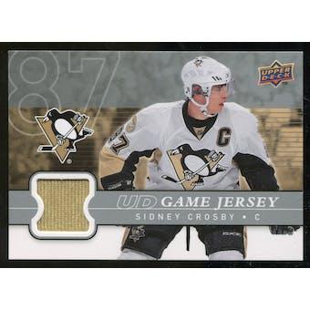 2008/09 Upper Deck Game Jerseys #GJSC Sidney Crosby