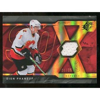 2007/08 Upper Deck SPx Spectrum #21 Dion Phaneuf Jersey /25
