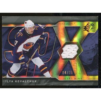 2007/08 Upper Deck SPx Spectrum #52 Ilya Kovalchuk Jersey /25