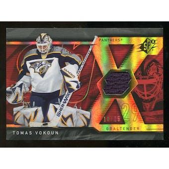 2007/08 Upper Deck SPx Spectrum #59 Tomas Vokoun Jersey /25