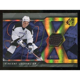 2007/08 Upper Deck SPx Spectrum #62 Vincent Lecavalier Jersey /25
