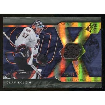 2007/08 Upper Deck SPx Spectrum #65 Olaf Kolzig Jersey /25