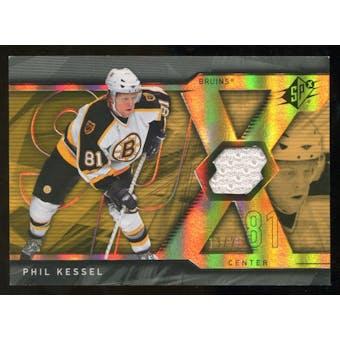 2007/08 Upper Deck SPx Spectrum #69 Phil Kessel Jersey /25