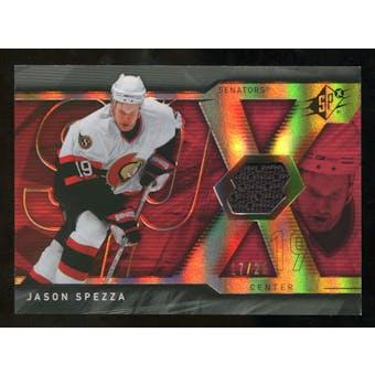 2007/08 Upper Deck SPx Spectrum #78 Jason Spezza Jersey /25