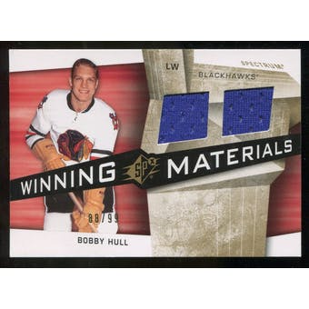 2008/09 Upper Deck SPx Winning Materials Spectrum #WMBH Bobby Hull /99