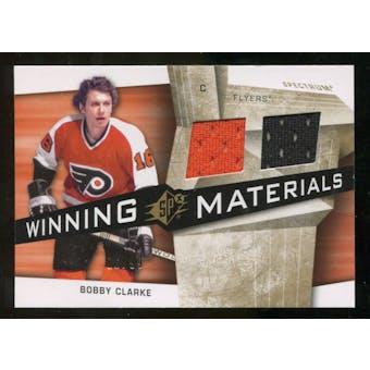 2008/09 Upper Deck SPx Winning Materials Spectrum #WMCC Bobby Clarke /99