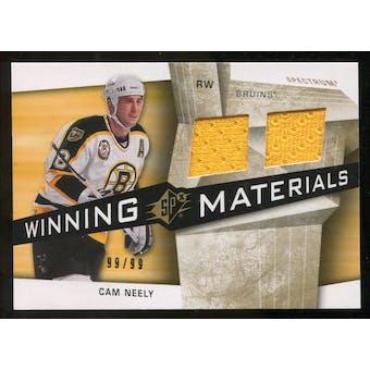 2008/09 Upper Deck SPx Winning Materials Spectrum #WMCN Cam Neely /99