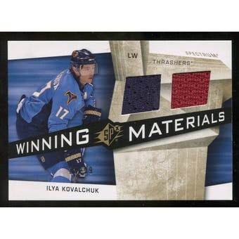 2008/09 Upper Deck SPx Winning Materials Spectrum #WMIK Ilya Kovalchuk /99