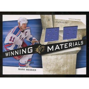 2008/09 Upper Deck SPx Winning Materials Spectrum #WMMM Mark Messier /99