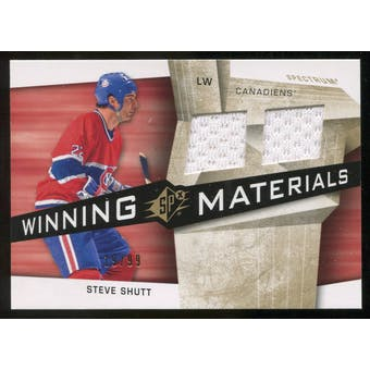 2008/09 Upper Deck SPx Winning Materials Spectrum #WMSS Steve Shutt /99