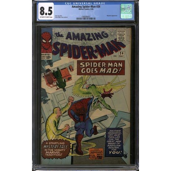 Amazing Spider-Man #24 CGC 8.5 (OW-W) *1968696001*