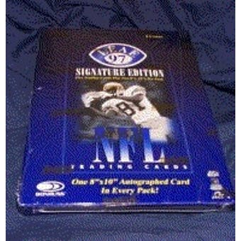 1997 Leaf Signature Football Hobby Box